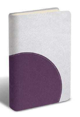 Message The Bible in Contemporary Language, Numbered Edition, Stone and Purple, Leather Look