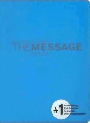 Message//Remix The Bible In Contemporary Language, Blue, Hypercolor!