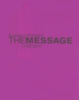 Message//Remix The Bible in contemporary Language Hypercolor Purple