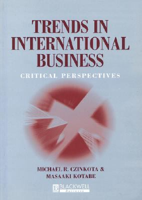 Trends in International Business Critical Perspectives