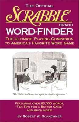 Official Scrabble Brand Word-Finder The Ultimate Playing Companion to America's Favorite Word Game