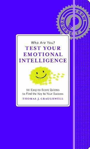 Who Are You? Test Your Emotional Intelligence (Know Yourself)
