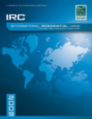 2009 International Residential Code For One-and-Two Family Dwellings: Softcover Version