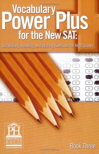 Vocabulary Power Plus for the New SAT, Book 3
