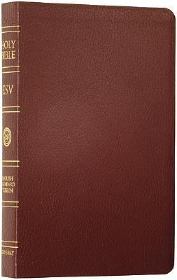 Classic Reference Bible English Standard Version Burgundy Bonded Leather  Boxed  Indexed
