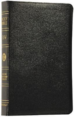 Classic Reference Bible English Standard Version, Black Genuine Leather, Black Letter Edition