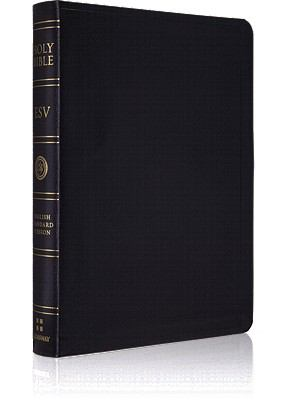 Holy Bible English Stanard Version, Black Bonded Leather