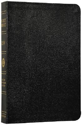 Holy Bible English Stanard Version, Black, Genuine Leather