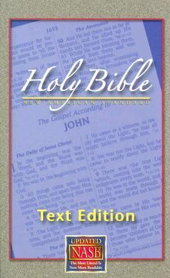 New American Standard Bible: Large Print Text Edition