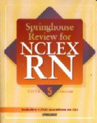 Springhouse Review for NCLEX-RN (Book with CD-ROM)