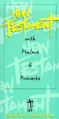 Slimline New Testament with Psalms and Proverbs, Youth Edition: Contemporary English Version (CEV), green