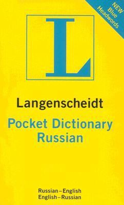 Langenscheidt's Pocket Russian Dictionary Russian - English / English - Russian