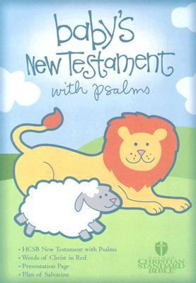 Baby's New Testament With Psalms Holman Christian Standard Bible, Blue Imitation Leather