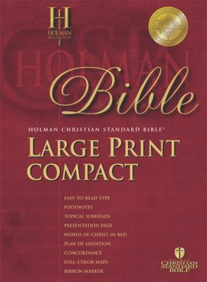 Holy Bible Holman Christian Standard Bible, Blue, Bonded Leather