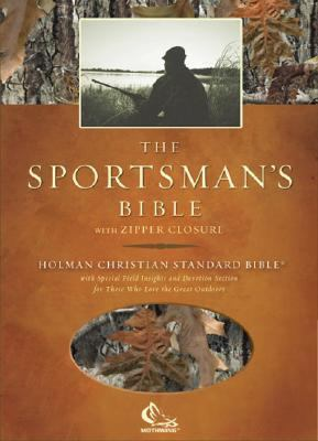 Sportsman's Bible Holman Christian Standard Bible, Camouflage, Simulated Leather with Zipper Closure