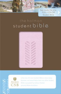 The HCSB Student Bible, Pink Simulated Leather