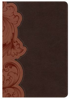 KJV Study Bible Personal Size, Dark Umber/Sienna LeatherTouch