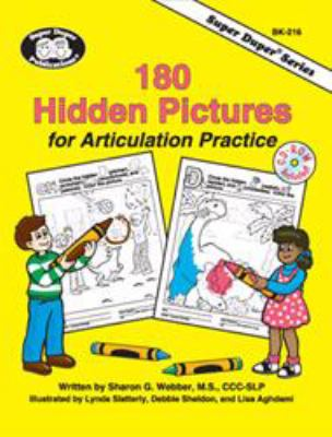 180 Hidden Pictures for Articulation Practice