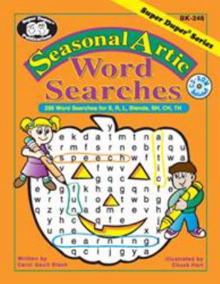 Seasonal Artic Word Searches : 256 Word Searches for S, R, L, Blends, SH, CH TH