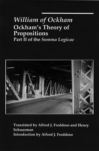 Ockham's Theory of Propositions: Part II of the Summa Logicae