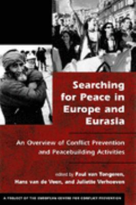 Searching for Peace in Central and South Asia An Overview of Conflict Prevention and Peacebuilding Activities