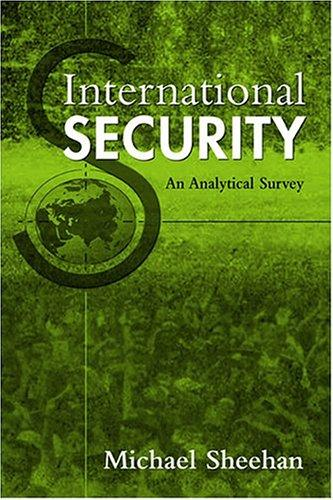 International Security: An Analytical Survey