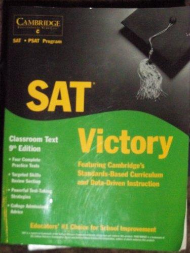 SAT Victory - Classroom Text 9th Edition