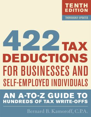 422 Tax Deductions for Busines