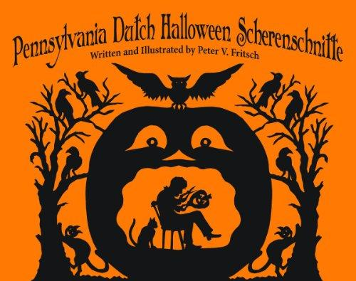 Pennsylvania Dutch Halloween Scherenschn