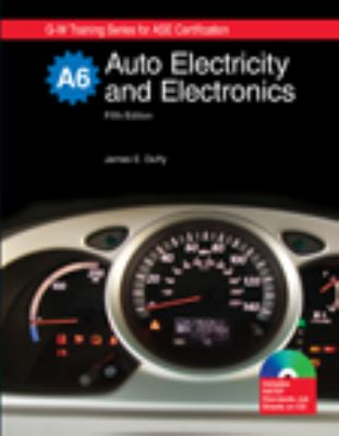 Auto Electricity and Electronics: Textbook W/ Job Sheets on Cd