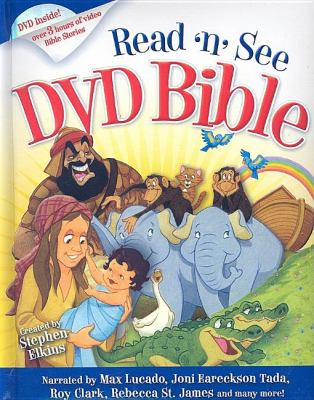 Read-n-See DVD Bible: Narrated by: Max Lucado, Joni Erickson Tada, Twila Paris, Rebecca St. James, Roy Clark & Others