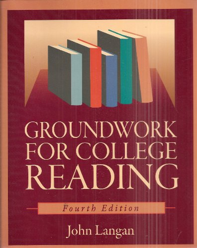 Groundwork for College Reading, 4th Edition