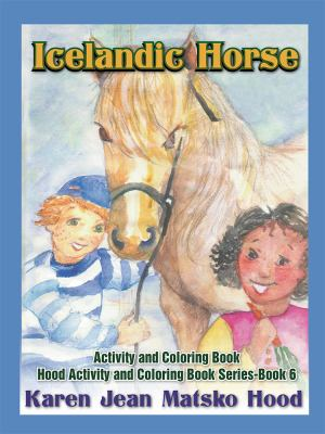 Icelandic Horse Activity and Coloring Book : Second Edition