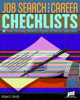 Job Search And Career Checklists 101 Proven Time-Saving Checklists To Organize And Plan Your Career Search - Hirsch, Arlene S. pdf epub