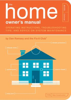 Home Owner's Manual Operating Instructions, Troubleshooting Tips, And Advice on Household Maintenance
