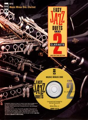 Easy Jazz Duets Two Clarinets and Rhythm Section