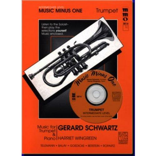 Music Minus One Trumpet: Intermediate Trumpet Solos, vol. II (Gerard Schwarz) (Sheet Music & CD)