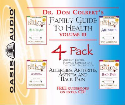 Dr. Colbert's Family Guide to Health  4 Pk