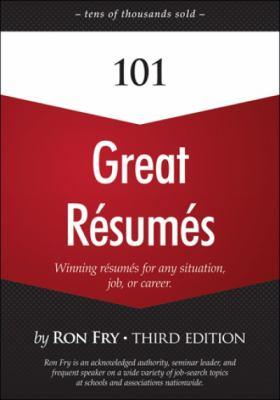 101 Great Resumes, Third Edition - Fry, Ron pdf epub