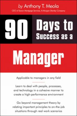 90 Days to Success as a Manager - Meola, Tony pdf epub