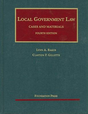 Local Government Law, Cases and Materials