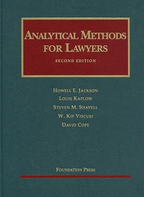 Analytical Methods for Lawyers, 2d