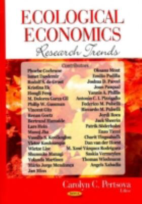 Ecological Economics Research Trends