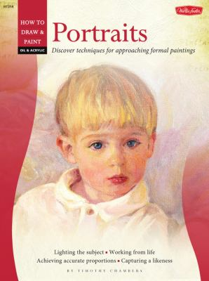 Oil & Acrylic: Portraits: Learn to paint step by step (How to Draw and Paint)