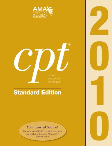 CPT Standard 2010 (Cpt / Current Procedural Terminology (Standard Edition))