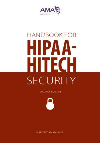 Handbook for Hipaa-hitech Security