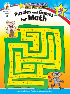 Puzzles and Games for Math (Homeworkbooks)