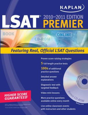 Kaplan LSAT 2010-2011 Premier with CD-ROM