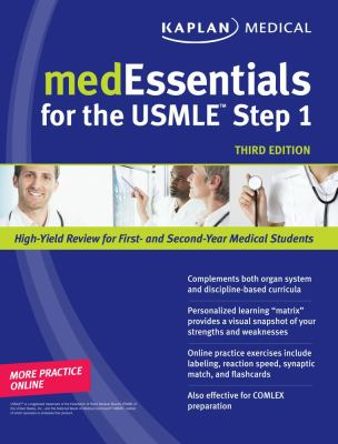 medEssentials for the USMLE Step 1 (Kaplan Medessenitals for the USMLE Step 1)