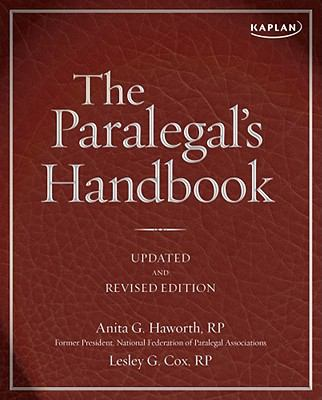 Paralegal's Handbook : A Complete Reference for All Your Daily Tasks